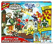 Big Sale Best Cheap Deals Marvel Super Hero Squad Mini Playset - Doom Castle with Dr. Doom and Iron Man