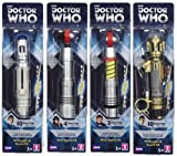 Doctor Who Sonic Screwdriver: SET OF 4 (with Sound FX)