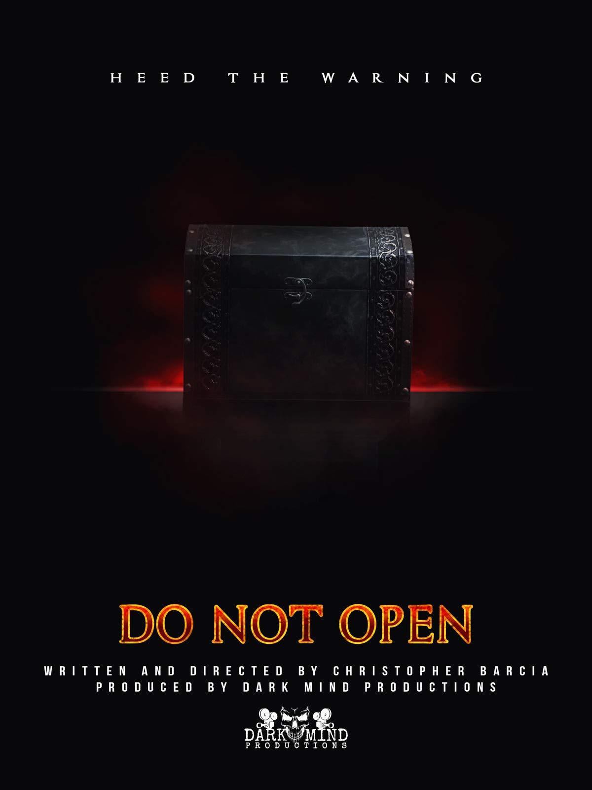 Do Not Open on Amazon Prime Instant Video UK