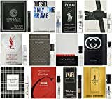 Men's Designer Fragrance Samples 12ct
