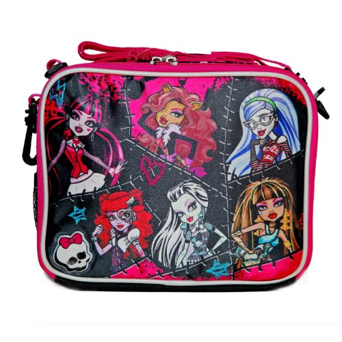 Accessory Innovations Monster High 6 Girls Lunch Bag