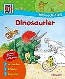 Image de Mitmach-Heft Dinosaurier: Dino-Rätsel, Sticker, Ausmalseiten, Erstlesegeschichte (WAS IST