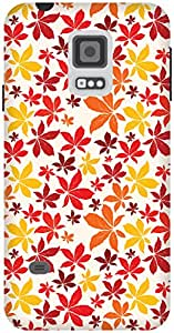 The Racoon Grip Autumn Fall hard plastic printed back case / cover for Samsung Galaxy S5 Mini