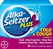 Alka-Seltzer Plus Cold and Cough Liquid Gels, 20 Count