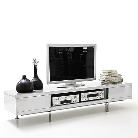 daheim.de TV-Lowboard Briatico weiß