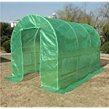 Quictent® 12' X 7' X 7' Portable Greenhouse Large Walk-in Green Garden Hot House High Quality