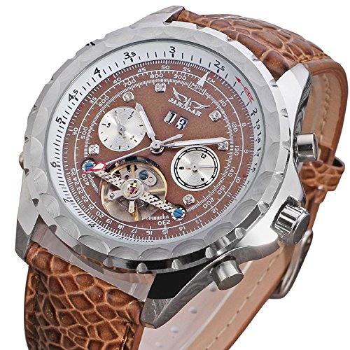 Zack1-Mens-Automatic-Wrist-Watch-Leather-Brown