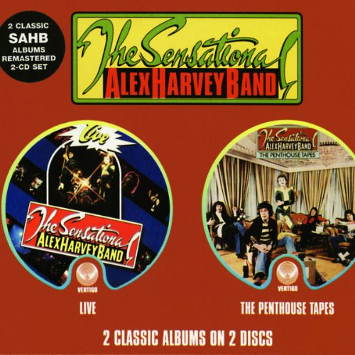 The Sensational Alex Harvey Band - Live / Penthouse Tapes - Zortam Music