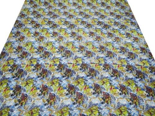 tamaño de la reina edredones con estampado floral multicolor casa Décor algodón Colcha reversible tirar India 112X92 Pulgadas