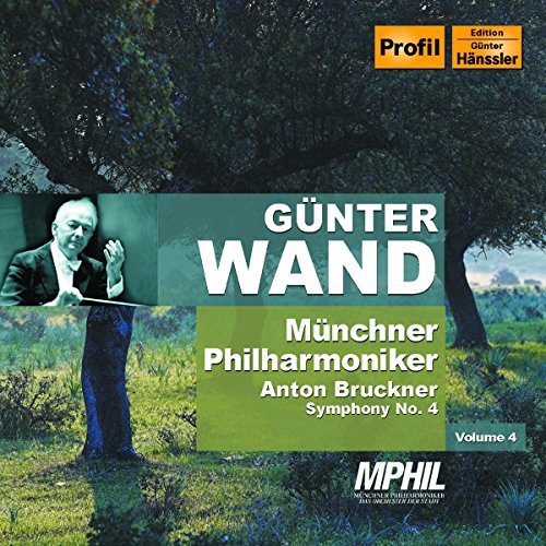 CD : Gunter Wand - Symphonies 4 (CD)
