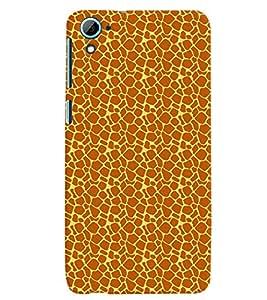 PrintVisa Corporate Print & Pattern Animal Print 3D Hard Polycarbonate Designer Back Case Cover for HTC Desire 826