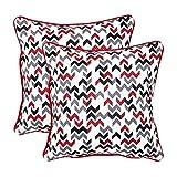 12'x12' Outblush Set Of 2 Cushion Covers - @home Nilkamal - B00UL45NNO