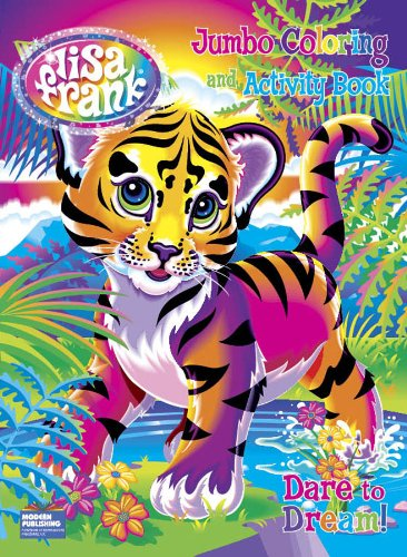 Lisa Frank Jumbo Coloring and Activity Book - 1
