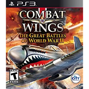 Combat Wings: The Great Battles of WWII Video Game for PS3