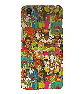 printtech Indian Gods Culture Back Case Cover for One Plus X
