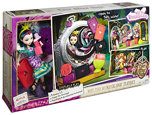 Ever After High Way Too Wonderland High and Raven Queen Playset JungleDealsBlog.com