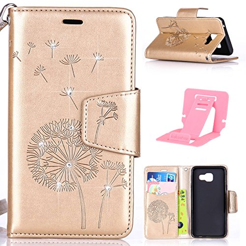 samsung-a52016-case-galaxy-a52016-shell-ekakashop-retro-candy-color-butterfly-dandelion-with-bling-g