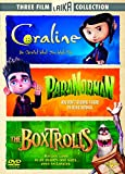 Coraline/Paranorman/The Boxtrolls [DVD]