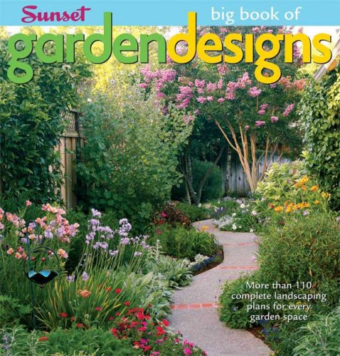 Goodplans sunset big book of garden designs a goodplans for Garden design workbook