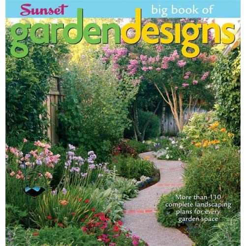 Big book of garden designs big book of marianne for Landscape design books