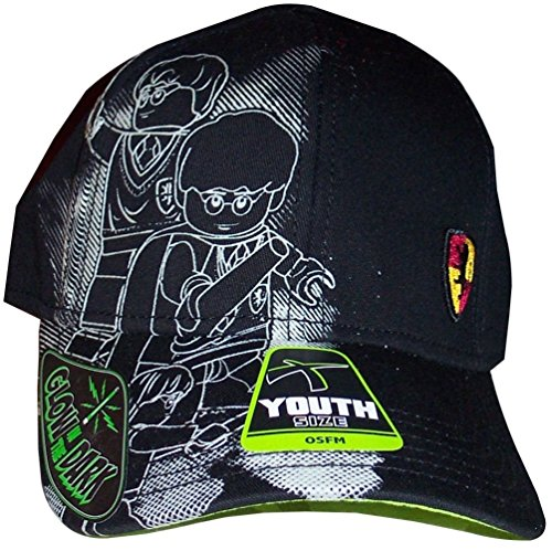 Harry Potter Lego Glow In The Dark Youth Baseball Cap Hat Costume Accessory