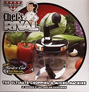 Chef's Rival Chopper - The Ultimate Euro-Gourmet Chopping & Mixing Machine