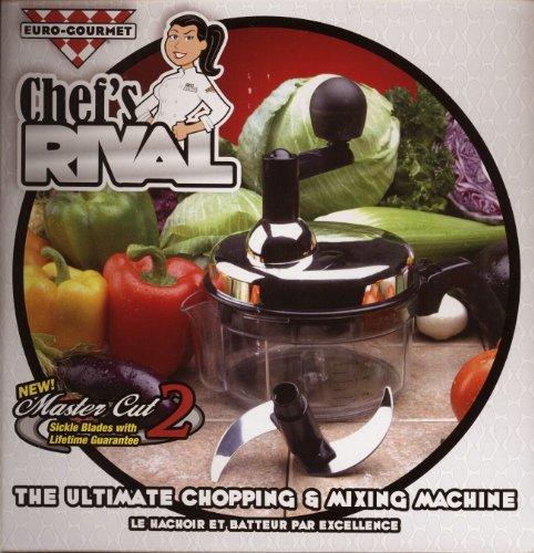 Chef's Rival Chopper - The Ultimate Euro-Gourmet Chopping & Mixing Machine