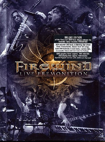 Firewind - Live Premonition (Dvd+2 Cd)