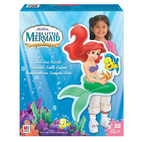 Cheap Milton Bradley The Little Mermaid Special Edition 30 Pc Floor Puzzle (Disney) (B001QX4ZKQ)