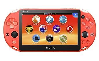 【クリックでお店のこの商品のページへ】PlayStation Vita Wi-Fiモデル ネオン・オレンジ(PCH-2000ZA24)