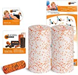 Blackroll Orange (Das Original) - DIE Selbstmassagerolle - Twin-Set MED (inkl. Übungs-DVD, -Poster und -Booklet)
