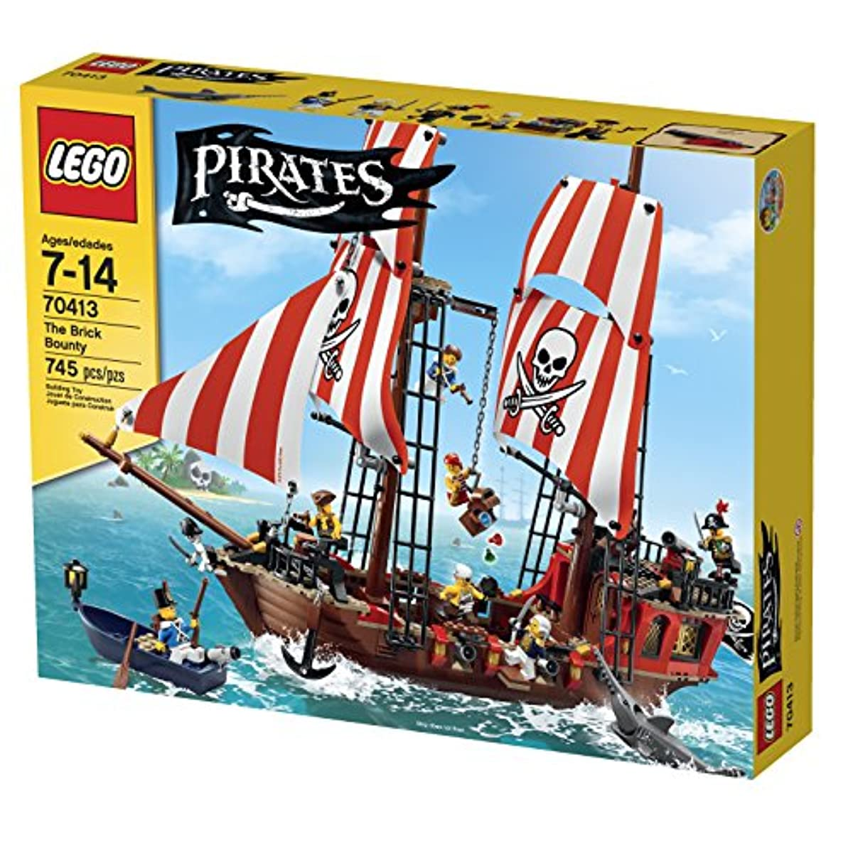 [해외] LEGO PIRATES THE BRICK BOUNTY-6100662