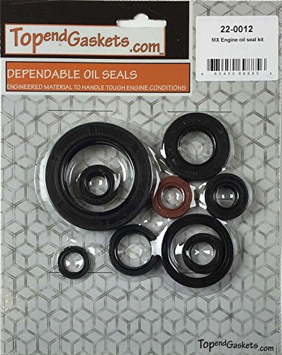 NEW 9pc Engine Oil Seal Kit - Fits Honda CR250R 2005-2007 (Honda Crf 450 Crankshaft compare prices)
