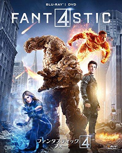ファンタスティック・フォー 2枚組ブルーレイ&DVD(初回生産限定) [Blu-ray]
