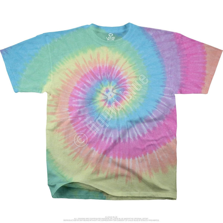 Pastel Tie Dye Hoodie Pastel Spiral Tie Dye Adult t