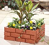 Instant Brick Effect Garden Border (1169) Lawn Edging in Brick Design to keep your lawn and flowers neat and tidy.