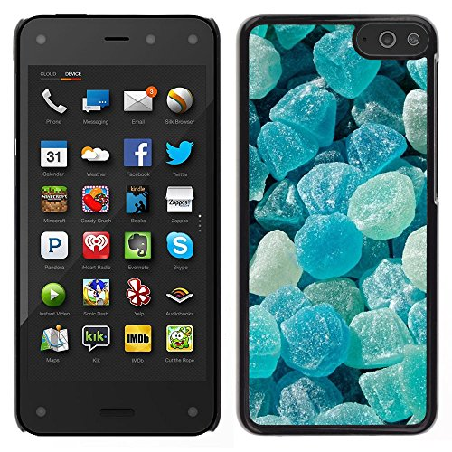 iBinBang / Slim Design Hard Sanp Case Cover - Crystal Meth Rocks Candy Blue Beach - Amazon Fire Phone