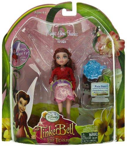 Buy Low Price Jakks Pacific Rosetta 4.75″ Mini-Figure: Magic Glow Fairies – Disney Fairies TinkerBell the Lost Treasure Series (B0051D3W1K)