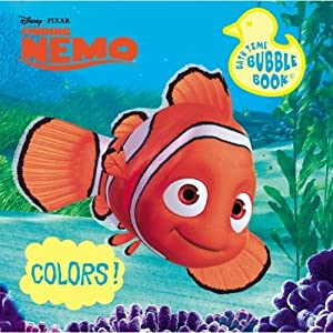 Disney Finding Nemo Bath Book