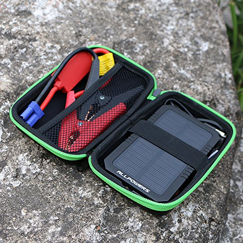 Allpowers solar car jump starter and portable charger for Mitsuba motor solar car