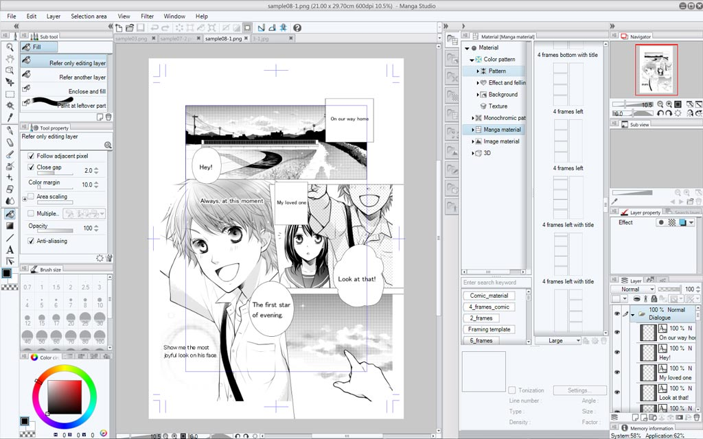 manga studio 5 manga comic book graphic novel