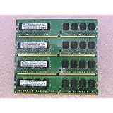Samsung M378T2953EZ3-CE6 4GB 4 x 1GB PC2-5300U DDR2 667 NonECC Unbuff Memory Kit (Tamaño: 4 Gb)