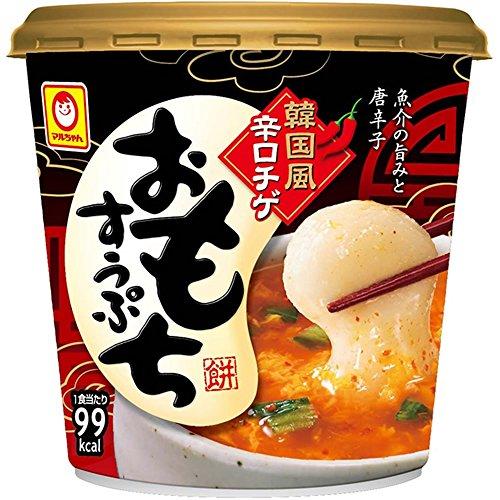 マルちゃん カップ韓国風辛口チゲ おもちすうぷ 38g×6個