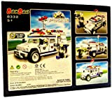 BanBao Civil Services Medium Police Humvee - 250 Pieces