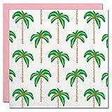 Palm Tree Foil Design Cocktail Disposable Party Napkins - 20 Count