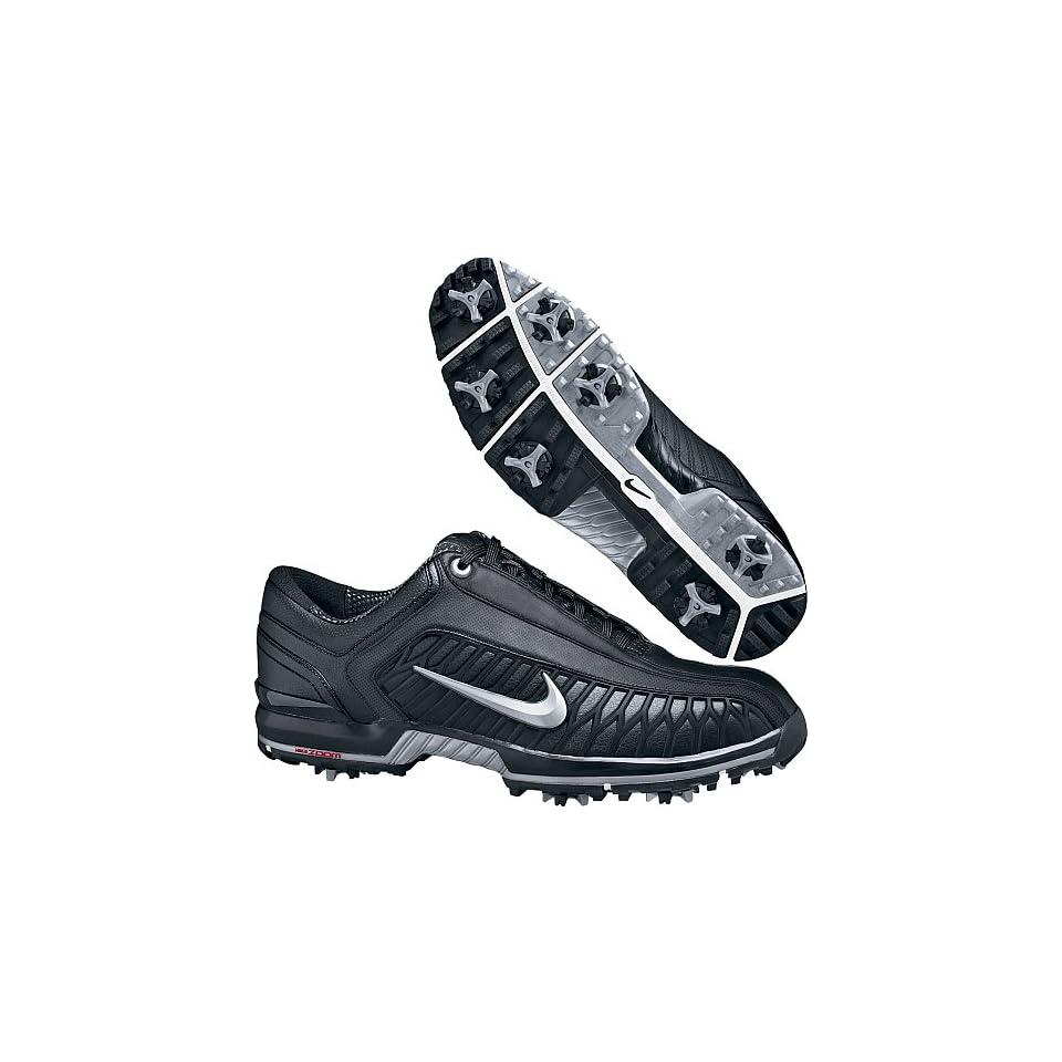 9c15b09470d7b Nike Air Zoom Elite II Golf Shoe (Black Metallic Silver) 7 wide on ...