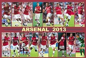 Arsenal 2013 Team Football,soccer Poster#2 - Rare New - Image Print Photo