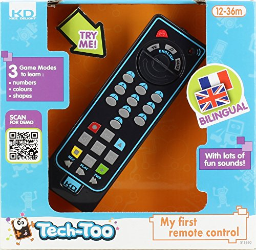Tech Too - S13880 - Jeu Educatif Electronique - Télécommande Educative Bilingue