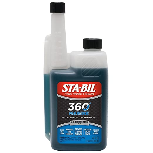 Amazon.com: STA-BIL 360 22240 Marine with Vapor Technology, 32 oz.: Automotive