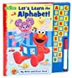 Sesame Street Write-and-Erase Sound Book: Let's Learn the Alphabet